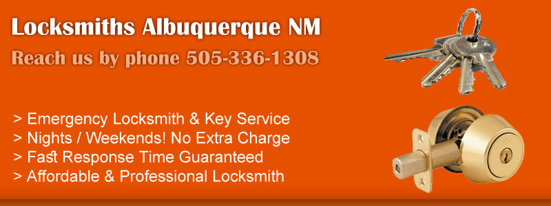 Locksmiths Albuquerque NM Banner
